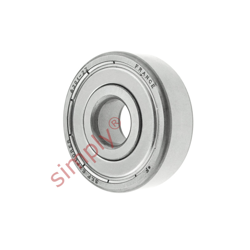 high temperature SKF 63012Z Metal Shielded Deep Groove Ball Bearing 12x37x12mm