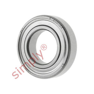 high temperature SKF 68002Z Metal Shielded Thin Section Deep Groove Ball Bearing 10x19x5mm