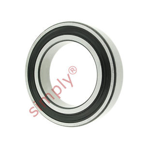 high temperature SKF 60102RS1C3 Rubber Sealed Deep Groove Ball Bearing 50x80x16mm