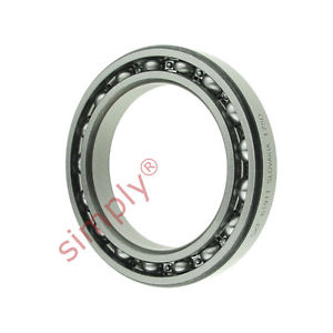 high temperature SKF 6911 Open Type Thin Section Deep Groove Ball Bearing 55x80x13mm
