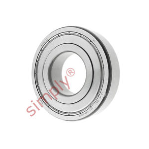 high temperature SKF 63082Z Metal Shielded Deep Groove Ball Bearing 40x90x23mm