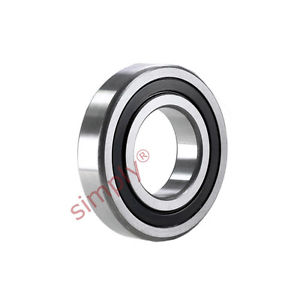 high temperature SKF 2203E2RS1TN9 Rubber Sealed Self Aligning Ball Bearing 17x40x16mm