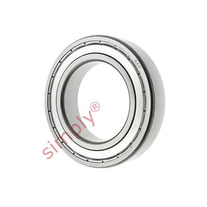 high temperature SKF 619012Z Metal Shielded Thin Section Deep Groove Ball Bearing 12x24x6mm