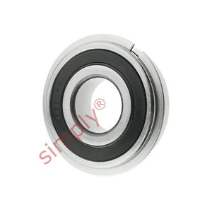 high temperature SKF 62042RSRNR Sealed Snap Ring Deep Groove Ball Bearing 20x47x14mm