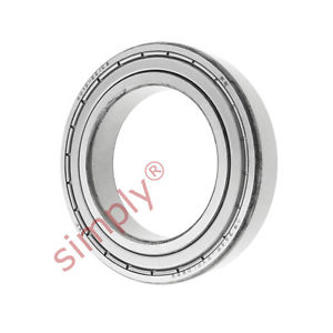high temperature SKF 60122ZC3 Metal Shielded Deep Groove Ball Bearing 60x95x18mm