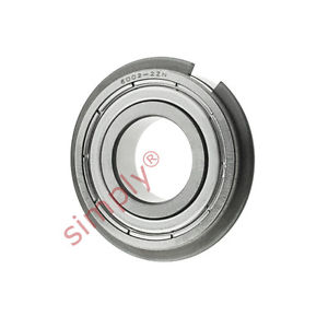 high temperature SKF 60022ZNR Sealed Snap Ring Deep Groove Ball Bearing 15x32x9mm