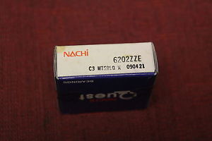 high temperature Nachi 6202ZZE C3 Single Row Ball Bearing New