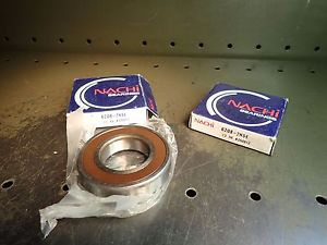 high temperature 2 Pc Lot Nachi 6208-2NSE C3 Ball Bearings 40mm Bore 80mm OD 18mm Thick NOS Japan