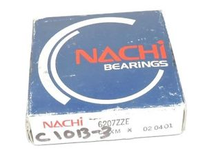 high temperature FACTORY SEALED NACHI 6207ZZE-C3 BEARING 6207ZZE