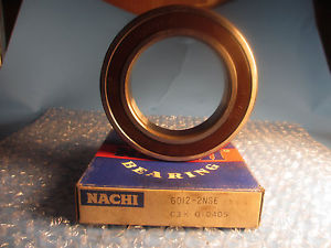 high temperature NACHI 6012 2NSE, Deep Groove Roller Bearing, (=2 SKF 6012 2RS JEM)