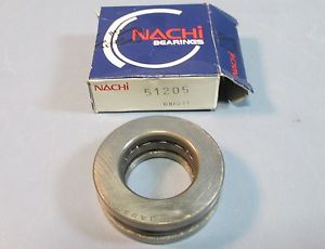 high temperature Nachi 51205 (8205) Thrust 205 Ball Bearing 3 Piece 25 x 47 x 15mm NIB