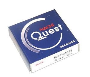 high temperature NIB NACHI QUEST 6008-2NSE9 ROLLER BEARING 60082NSE9