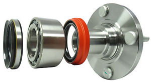 high temperature Nachi Japanese Wheel bearing w/ FRONT Hub   871-84115  WITH ABS  Toyota Corolla