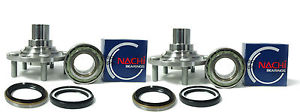 high temperature Nachi Japanese Wheel bearing w/ REAR Hub SET 871-84125 Lexus RX300 AWD 99-03