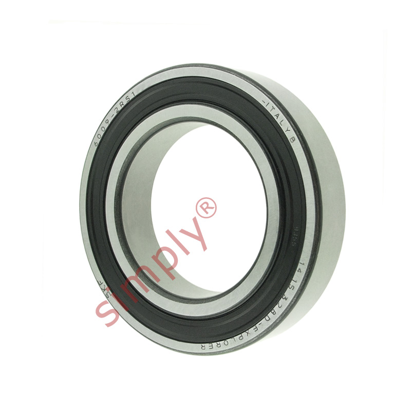 high temperature SKF 60092RS1 Rubber Sealed Deep Groove Ball Bearing 45x75x16mm