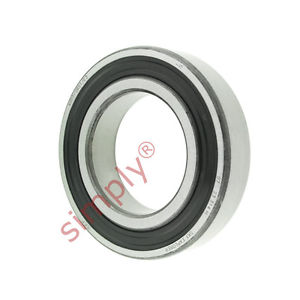 high temperature SKF 60072RS1C3 Rubber Sealed Deep Groove Ball Bearing 35x62x14mm