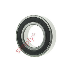 high temperature SKF 619022RS1 Rubber Sealed Thin Section Deep Groove Ball Bearing 15x28x7mm