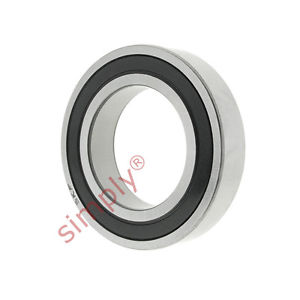 high temperature SKF 618162RS1 Rubber Sealed Thin Section Deep Groove Ball Bearing 80x100x10mm