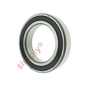 high temperature SKF 60122RS1 Rubber Sealed Deep Groove Ball Bearing 60x95x18mm