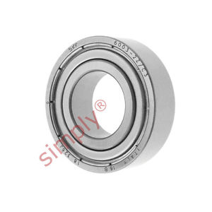 high temperature SKF 60032ZC3 Metal Shielded Deep Groove Ball Bearing 17x35x10mm