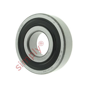 high temperature SKF 63052RS1 Rubber Sealed Deep Groove Ball Bearing 25x62x17mm