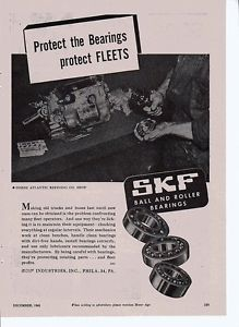 high temperature SKF BALL AND ROLLER BEARINGS AD FROM 1945