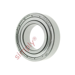 high temperature SKF E260052ZC3 Energy Efficient Shielded Deep Groove Ball Bearing 25x47x12mm