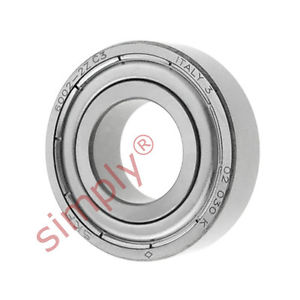 high temperature SKF 60022ZC3 Metal Shielded Deep Groove Ball Bearing 15x32x9mm