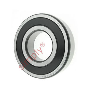high temperature SKF 63102RS1C3 Rubber Sealed Deep Groove Ball Bearing 50x110x27mm