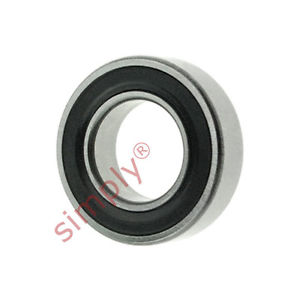 high temperature SKF 628/92RS1 Rubber Sealed Deep Groove Ball Bearing 9x17x5mm