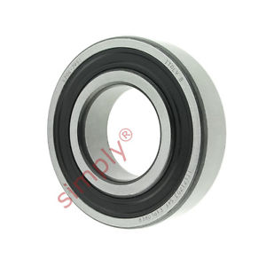 high temperature SKF 62062RS1 Rubber Sealed Deep Groove Ball Bearing 30x62x16mm