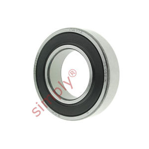high temperature SKF 60052RSH Rubber Sealed Deep Groove Ball Bearing 25x47x12mm