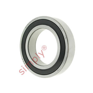 high temperature SKF 619052RS1 Rubber Sealed Thin Section Deep Groove Ball Bearing 25x42x9mm