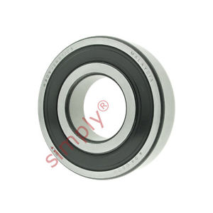 high temperature SKF 63092RS1C3 Rubber Sealed Deep Groove Ball Bearing 45x100x25mm
