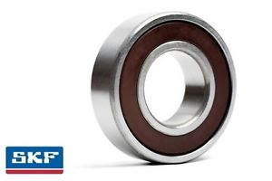 high temperature 6207 35x72x17mm 2RS Rubber Sealed SKF Radial Deep Groove Ball Bearing