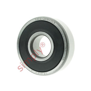 high temperature SKF 63022RSHC3 Rubber Sealed Deep Groove Ball Bearing 15x42x13mm