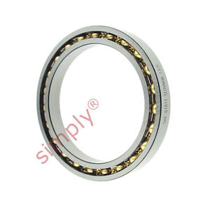 high temperature SKF 61811 Open Type Thin Section Deep Groove Ball Bearing 55x72x9mm