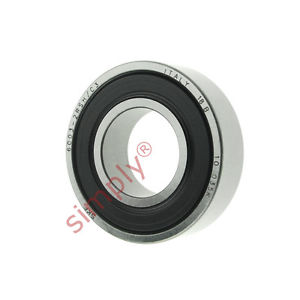 high temperature SKF 60032RSHC3 Rubber Sealed Deep Groove Ball Bearing 17x35x10mm