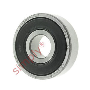 high temperature SKF 6292RSHC3 Rubber Sealed Deep Groove Ball Bearing 9x26x8mm