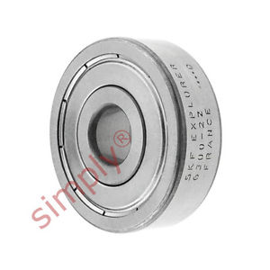 high temperature SKF 63002Z Metal Shielded Deep Groove Ball Bearing 10x35x11mm