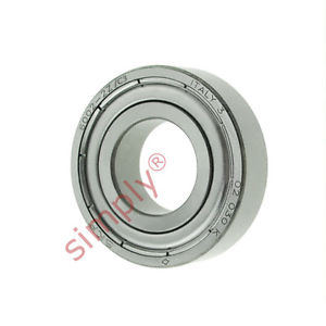 high temperature SKF 6002ZC3 Metal Shielded Deep Groove Ball Bearing 15x32x9mm