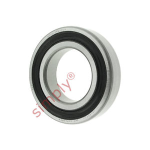 high temperature SKF 60062RS1C3 Rubber Sealed Deep Groove Ball Bearing 30x55x13mm