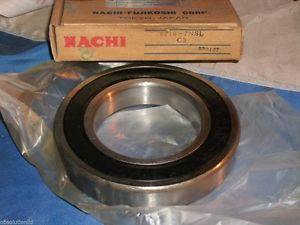high temperature NACHI 6216-2NSL C3 DEEP GROOVE SEALED BALL BEARING 62162NSL