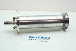 "high temperature Liquid Cooled Vacuum Chamber Spindle Housing 18"" Long Nachi 6206ZE Bearings"