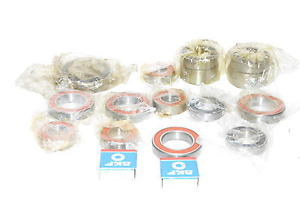 high temperature Lot of 17  Assorted Bearings NACHI, SKF, KOYO Mixed Sizes