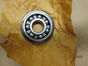 high temperature  NACHI, 6201-NR BEARING, OPEN WITH SNAP RING, 5 PC LOT.