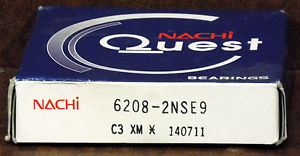 high temperature 1  NACHI 6208-2NSE9 BALL BEARING ***MAKE OFFER***