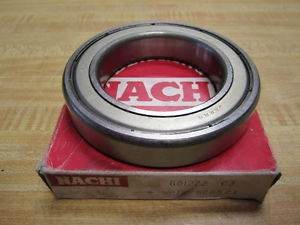 high temperature Nachi 6012ZZ C3 Shielded Deep Groove Ball Bearing 6012Z