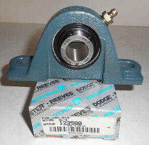 high temperature Dodge 3/4 Pillow Block Bearing 123580