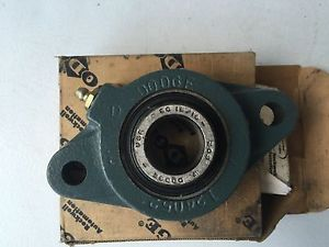 "high temperature DODGE F2B-SC-015 FLANGE TYPE PILLOW BLOCK BEARING 15/16"" BORE 124172  IN BOX"